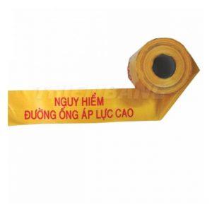 Băng cảnh báo bên dưới có đường ống nước ngầm